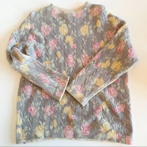 United Colors of Benetton Wool Sweater 1990's Rose
